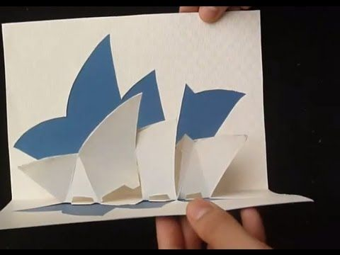 Kirigami Pop Up House Free Template Paper Craft Tcgames Hd Pop Up Card Templates Templates Printable Free Kirigami