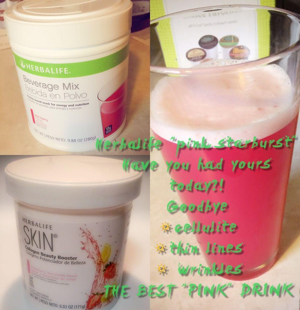Herbalife Pink Starburst Drink Amazing Herbalife Recipes Herbalife Shake Recipes Starburst Drink