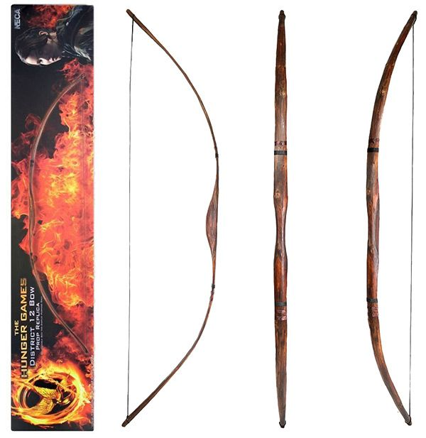 Catching fire bow and arrow replica