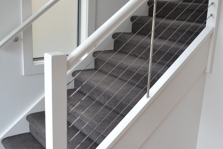 Lovely Gowling Stairs Provide Complete Installation Of Stainless Wire Balustrade  In Melbourne At Affordable Prices. Wire Balustrading Systems Are Unique And  Easy ...