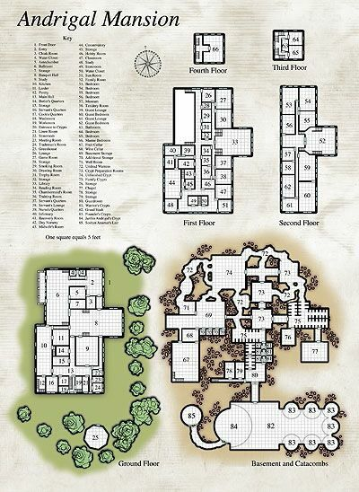 Andrigal mansion d d assats pinterest rpg fantasy for Fantasy house plans