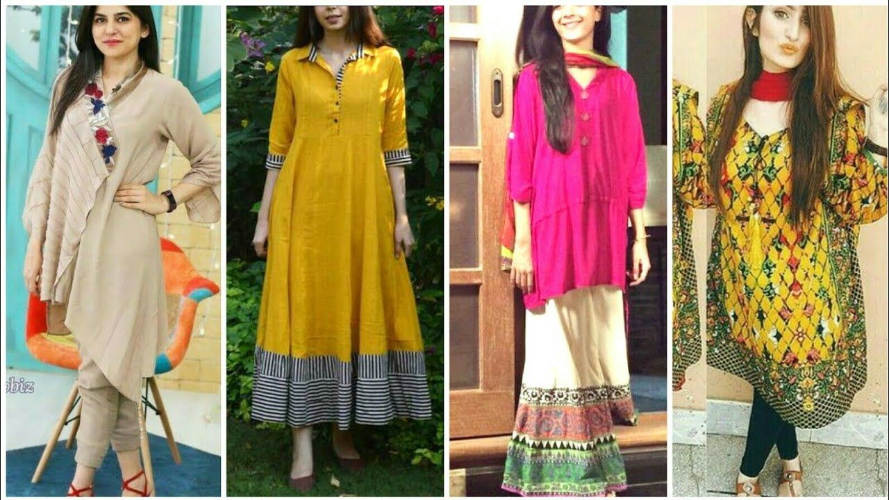 New Top Stylish Cotton Dress Designs For Girls 4 - Latest