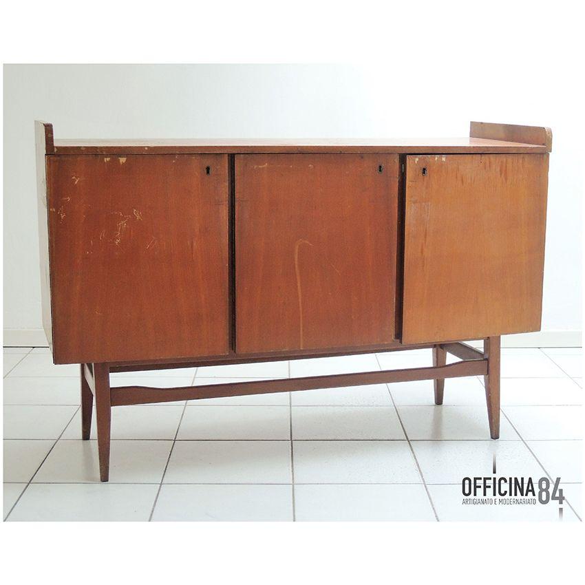 sideboard anni '60 da restaurare #officina84 #milano #via padova ... - Sedie Vintage Anni 60