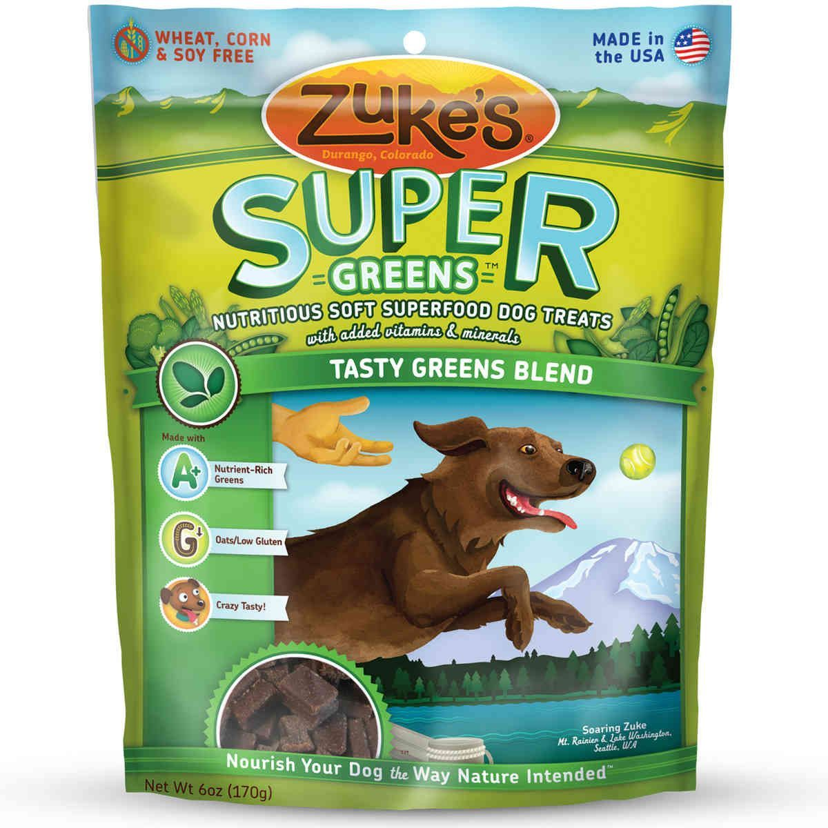 Zuke S Supers All Natural Nutritious Soft Superfood Dog Treats