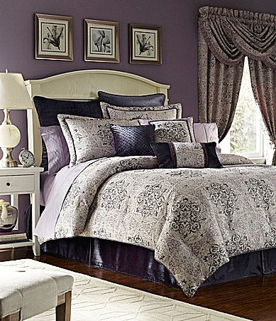 croscill nomad bedding collection dillards muted plum wall color