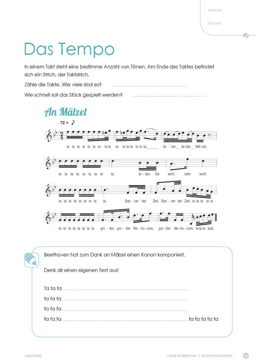 4 große Komponisten. Klassik in der Grundschule | Musikunterricht in ...