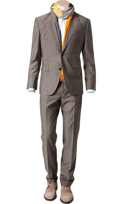 Hugo boss anzug johnstons lenon 50262339 230 auch fein gemustert anzug - Hochzeitsanzug hugo boss ...