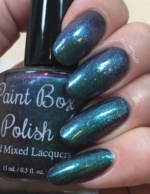 ehmkay nails: Paint Box Polish The 12 Collection, Swatches and Review. Paint Box Polish Who Are You?