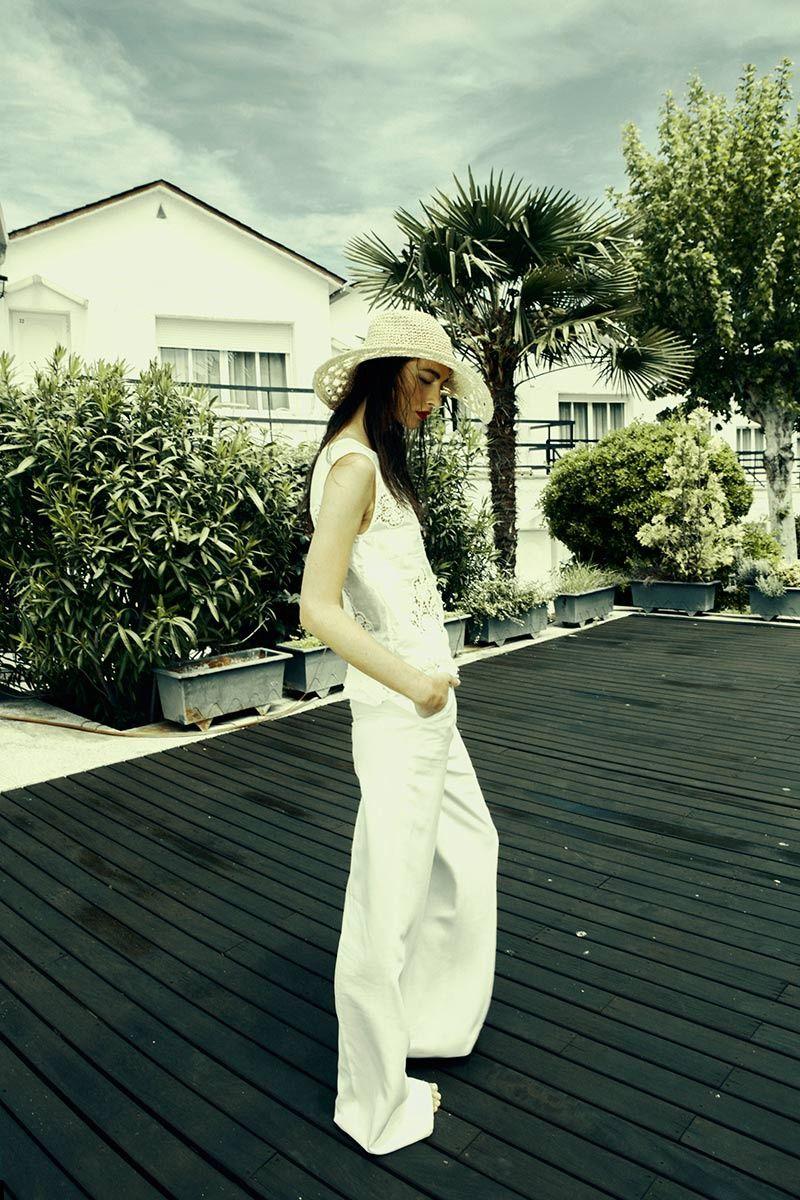 vestidos de novia de inspiracion surfera  top de Maje  e287519c199