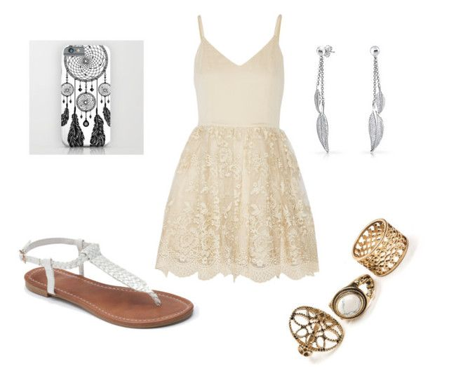 """""""Untitled #134"""" by jewellz-marybear ❤ liked on Polyvore featuring Alice + Olivia, Apt. 9 and Bling Jewelry"""