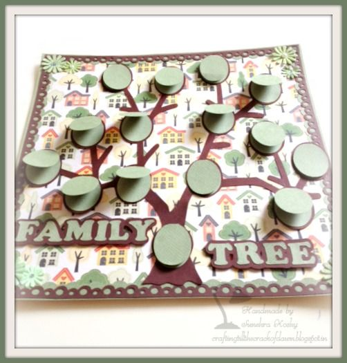 Aunts Extended Family Tree Digital Scrapbooking At Scrapbook