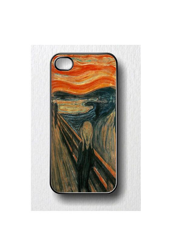 The Scream Edvard Munch painting Iphone case for by