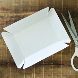 Free PDFpaper tray template | boxes | Pinterest | Paper tray ...