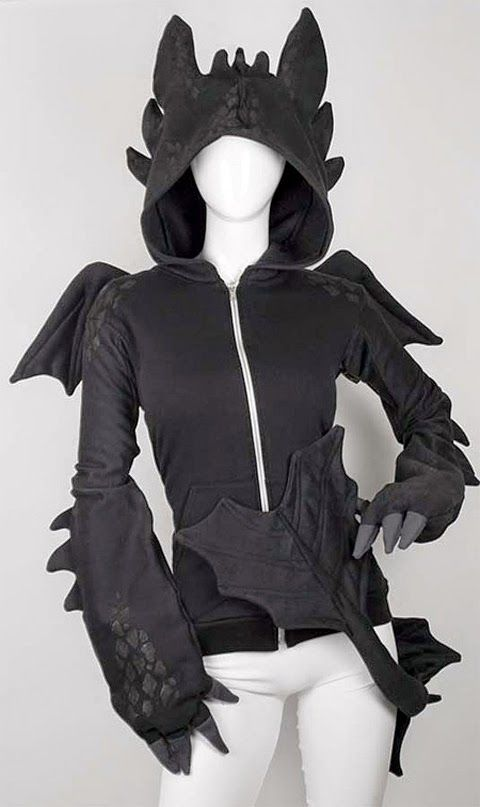Game of Thrones Dragon Hoodie by CosplayCanada
