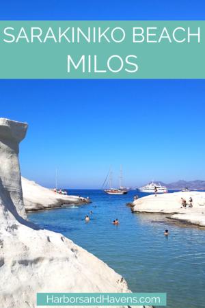 Everything You Need To Know About Sarakiniko Beach Milos Harbors Havens Sarakiniko Beach Greece Pictures Greece Travel