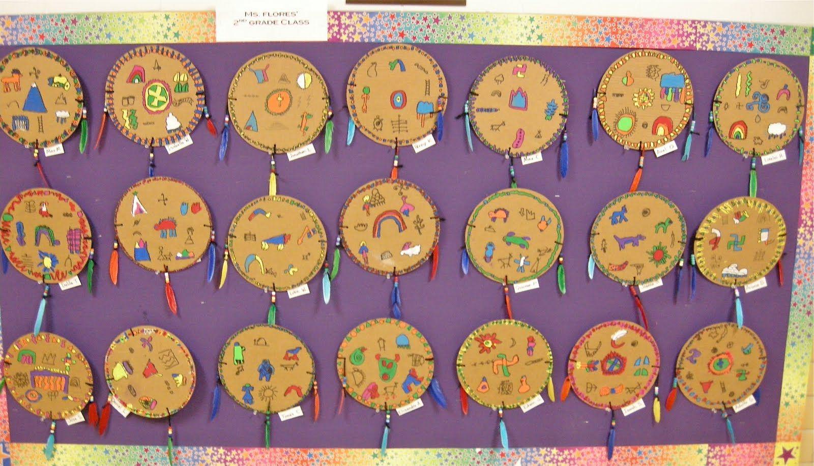 2nd Grade Native American Shield