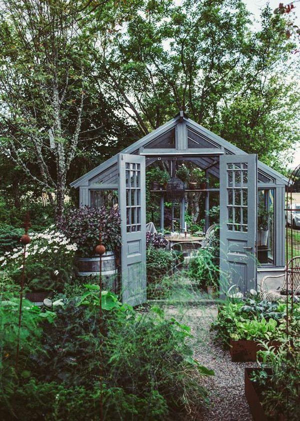Photo of 25 süße und inspirierende Ideen für Gartenhäuser, #cute #garden #gardensucculentlandscaping #ideas #i …