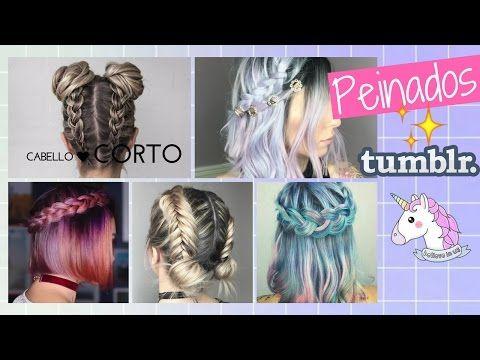 17 Peinados tumblr faciles para cabello corto