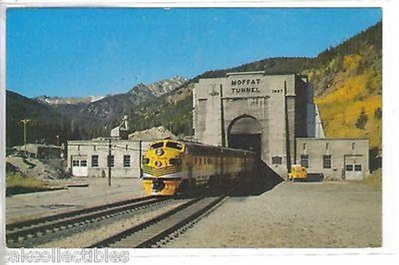 The Moffat Tunnel-Colorado Train | Etsy