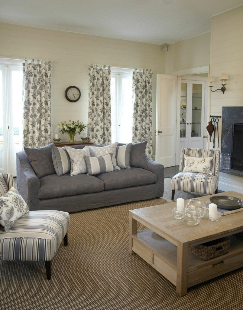 20 Impressive French Country Living Room Design Ideas ...