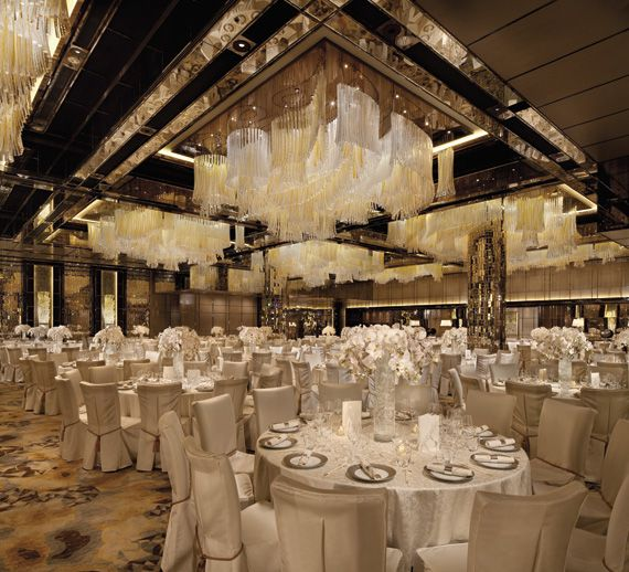 The Ritz Carlton Hong Kong Wedding Banquet Ballroom