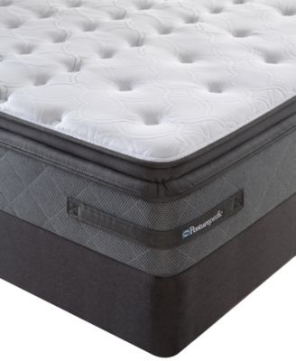 Sealy Posturepedic Grant Park Plush Euro Pillowtop Queen Mattress
