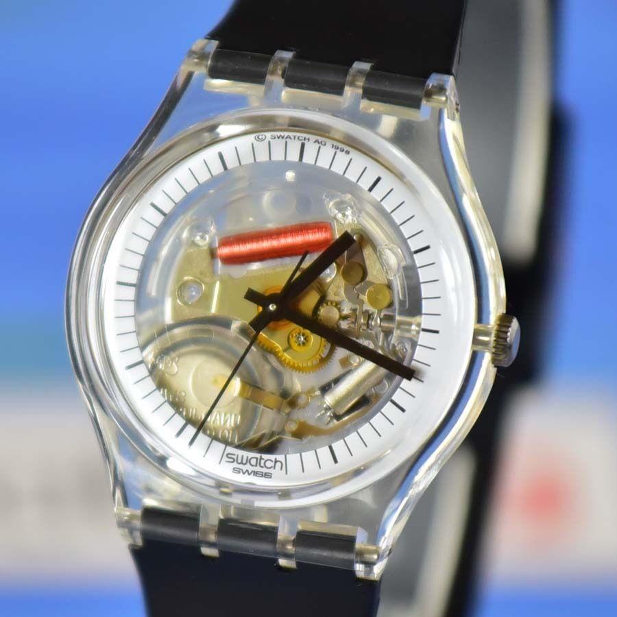 Swatch Skeleton Watch Gz157 Black Jelly Fish Swatch Skeleton Watch Swatch Watches