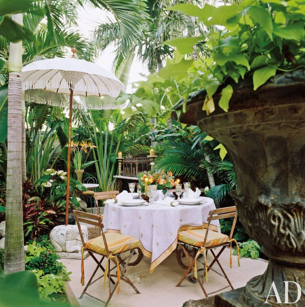 Exotic Outdoor Space by Diane Burn in West Palm Beach, Florida | Out ...