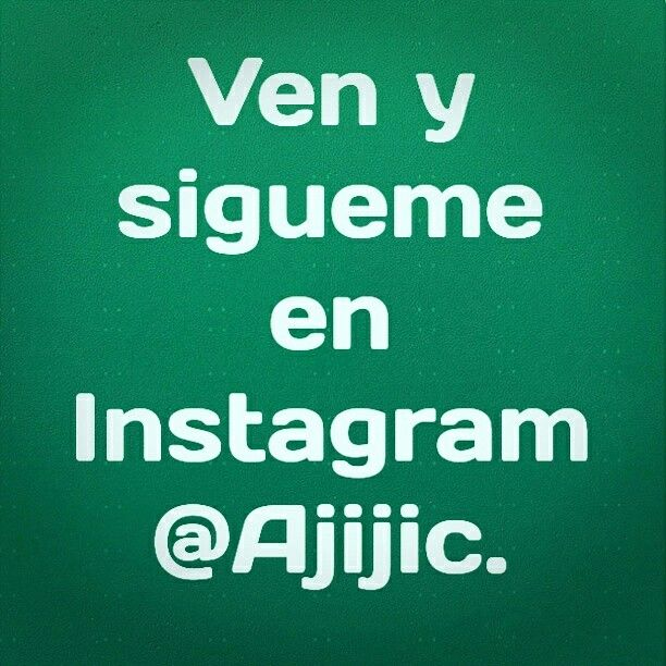 Come and follow us on Instagram @Ajijic.