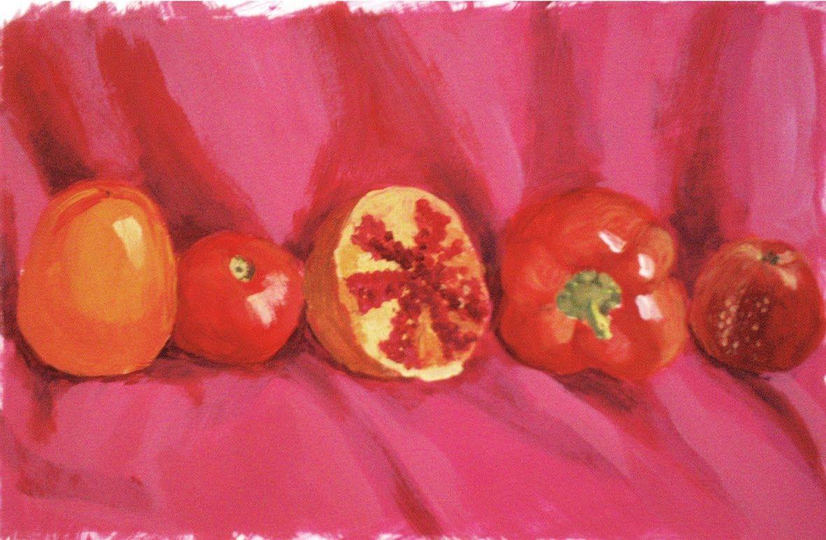Mezclar colores gama de rojos pintar con t mperas mix - Mezcla de colores para pintar ...