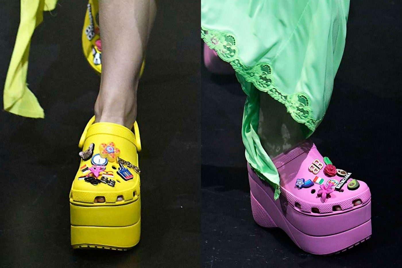 66de3dba4670 OMG Those Balenciaga Platform Crocs Sold Out In Less Than a Day on Pre-Order