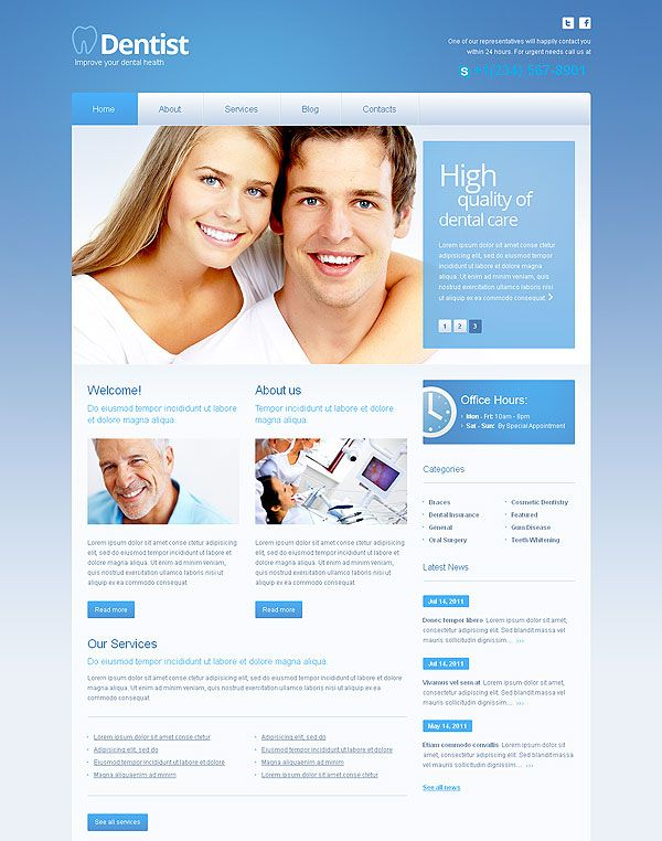 17 Best images about New web templates for you to choose! on ...
