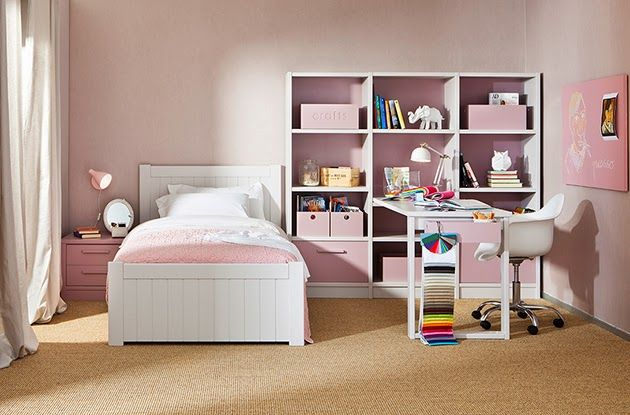Habitaciones Infantiles En Rosa Y Blanco Asoral 22 (630×415)