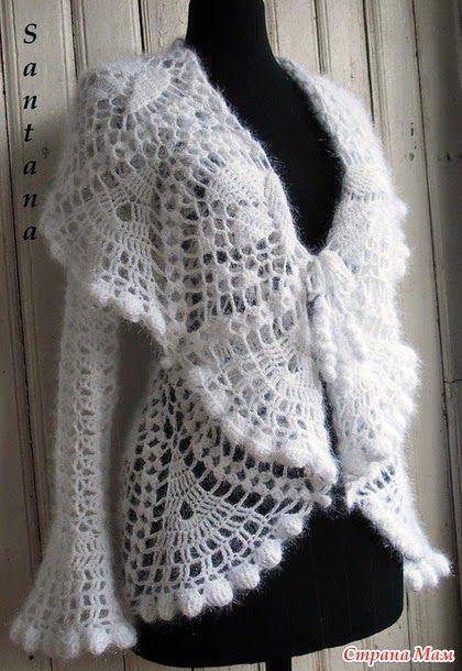 Irish crochet &: SANTANA Снежная королева