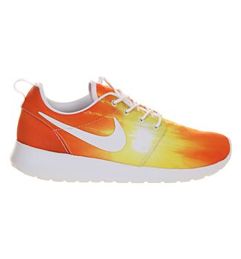 Nike Roshe Run Mango Sunset Exclusive - Exclusives