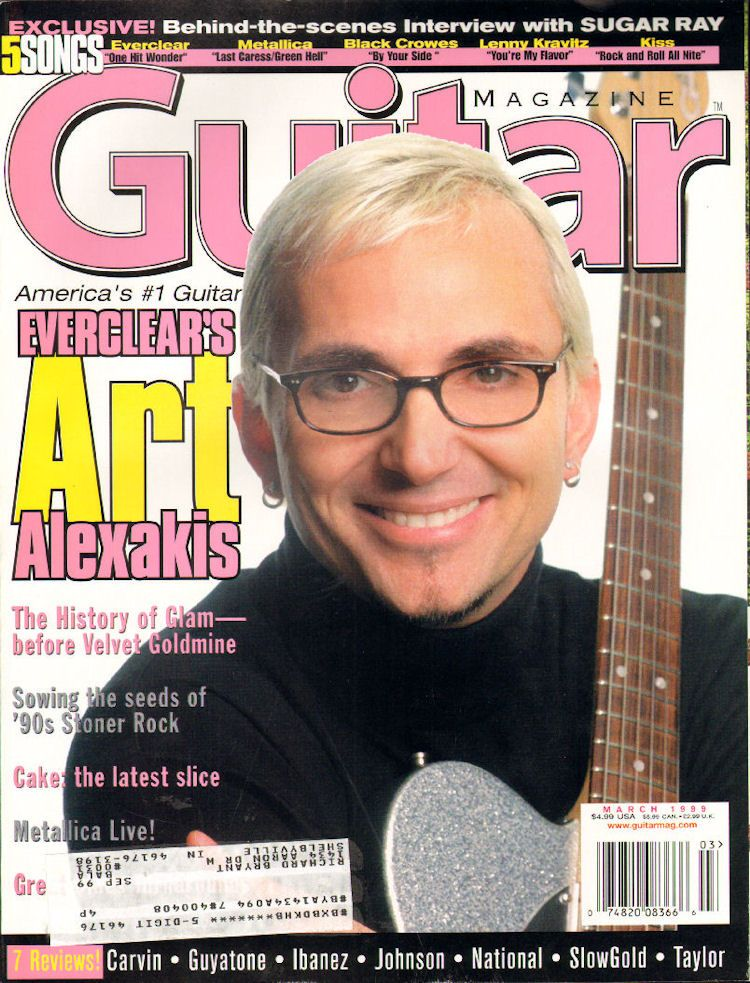 1999 March Guitar for the Practicing Musician Magazine Back-Issue