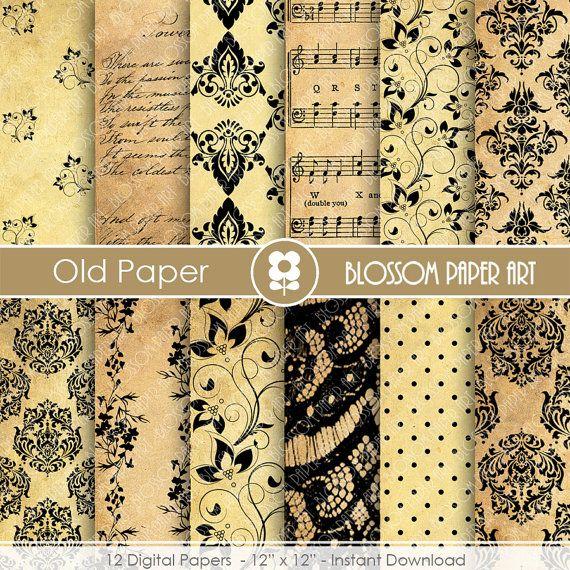 Papeles decorativos papel antiguo papeles decorativos - Papeles decorativos pared ...