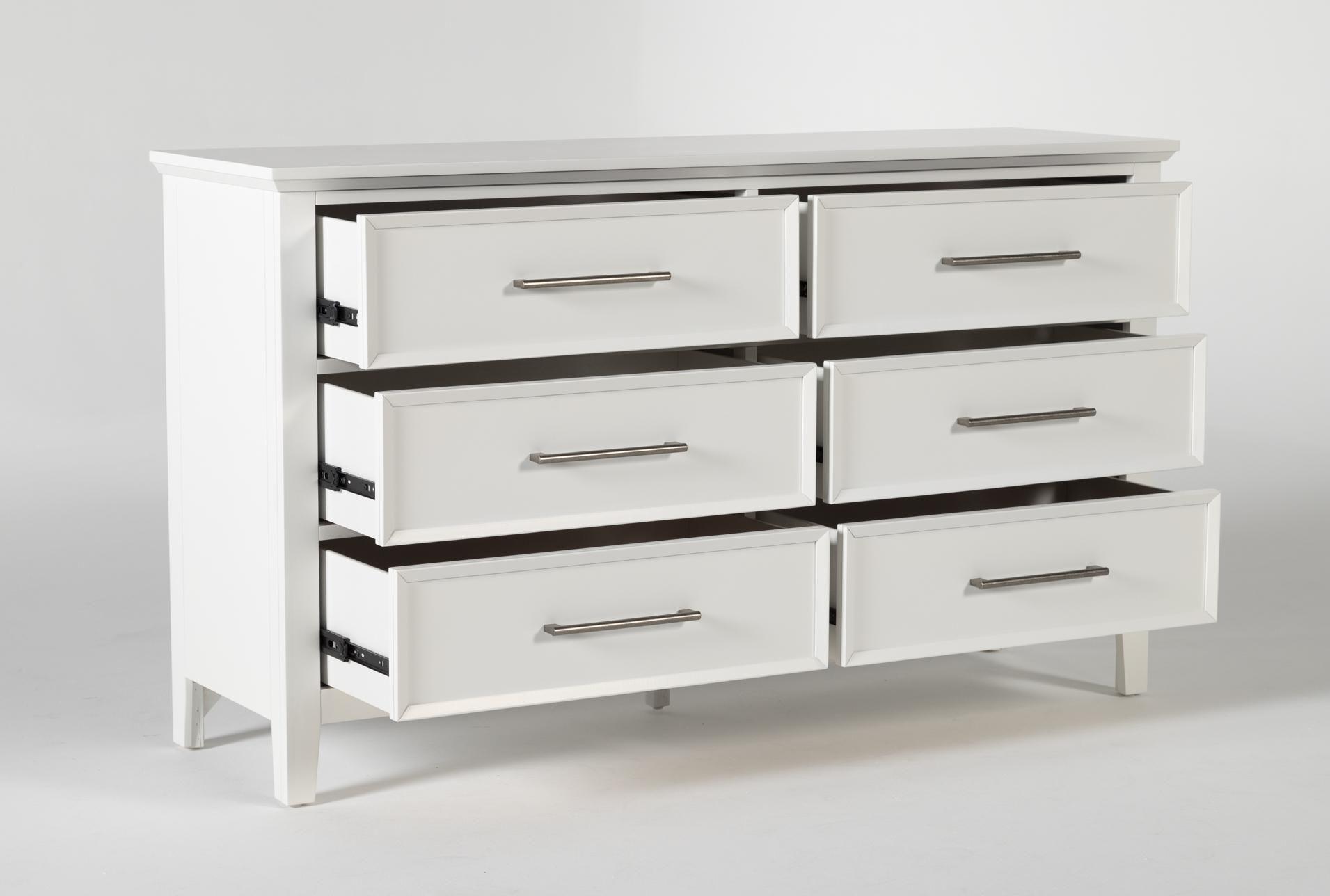 Dawson White 6 Drawer Dresser White Dresser Dresser Dovetail Joinery [ 1288 x 1911 Pixel ]