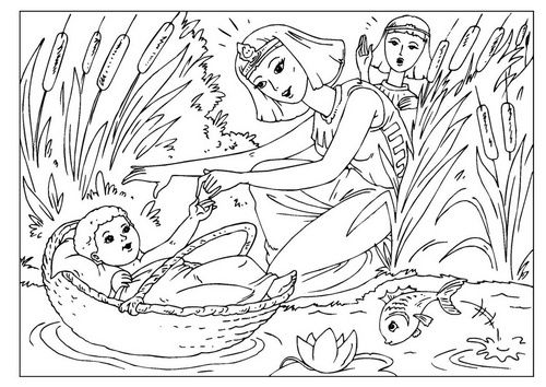 baby moses for sunday school - Google Search | Moisès | Pinterest