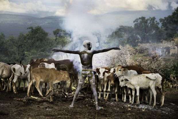 Steve McCurry   Children of the OMO   Surma tribe