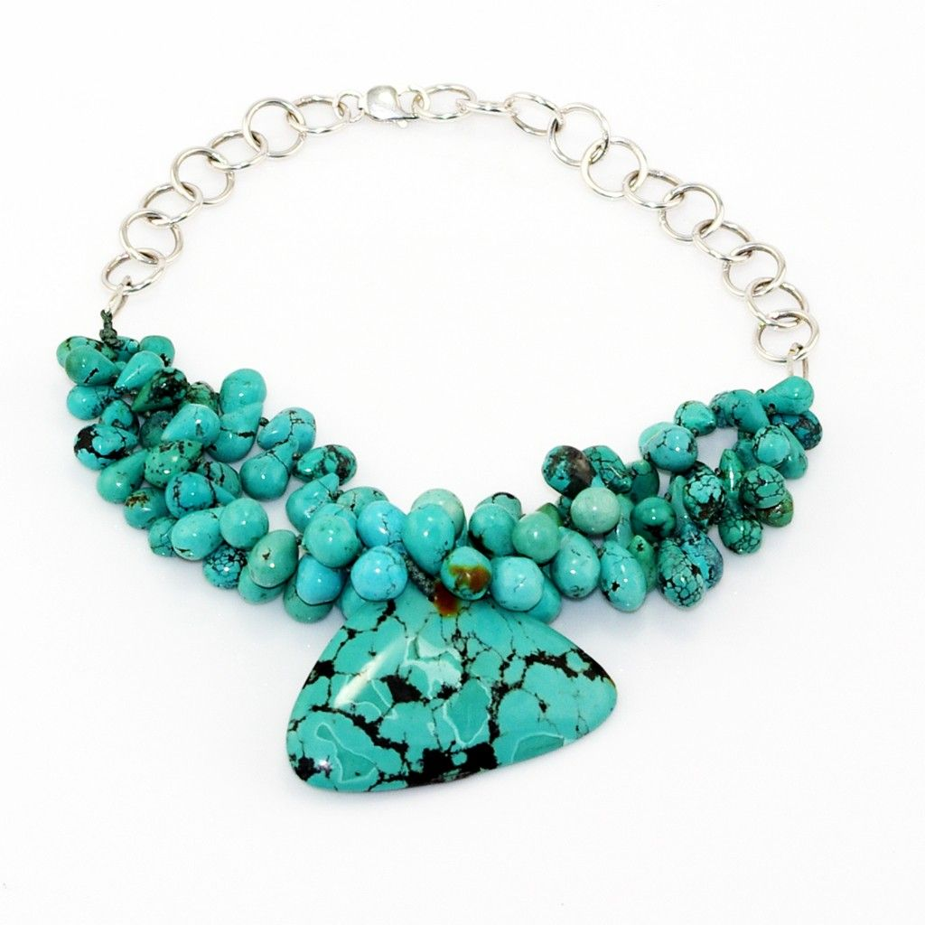 Urban Turquoise Necklace