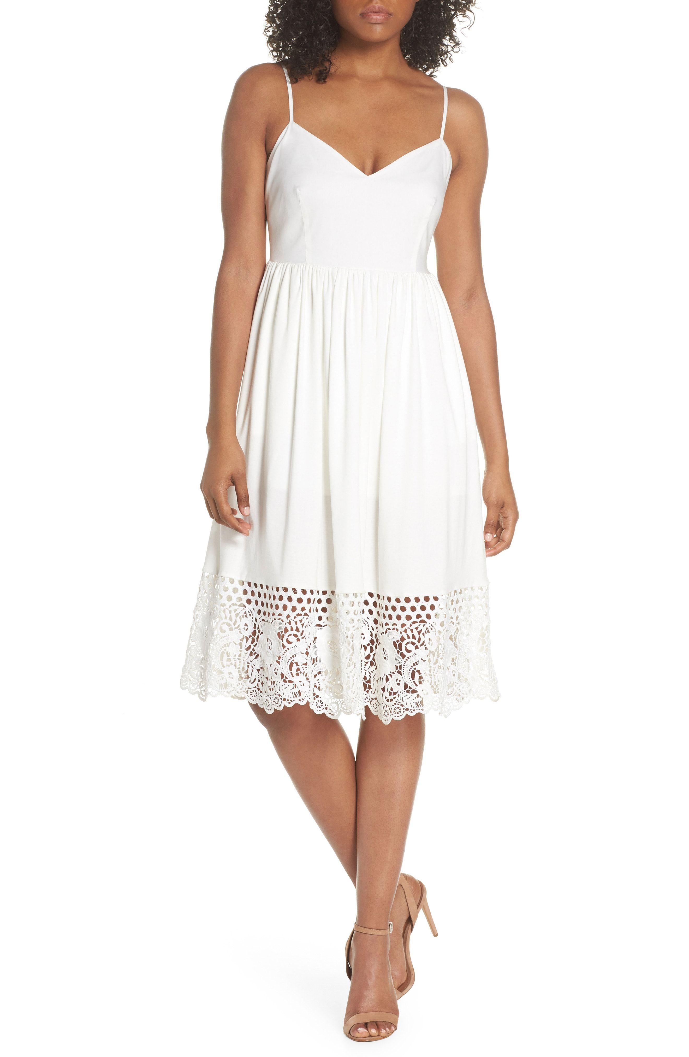 Gorgeous White Summer Dress From Nordstrom Frock For Women Dresses Little White Dresses