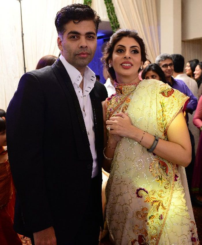 Image result for karan johar and shweta bachchan