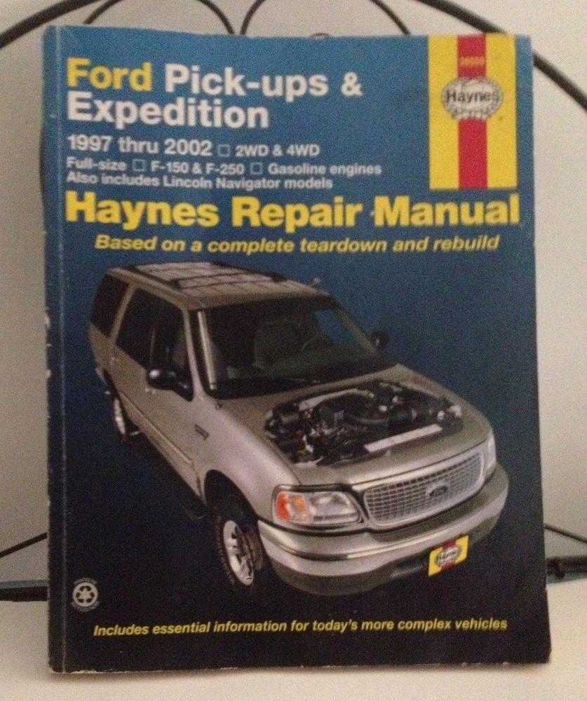 ford pick ups f150 expedition lincoln navigator 1997 2002 haynes rh pinterest com Haynes Repair Manual 1991 Honda Civic Haynes Repair Manuals PDF