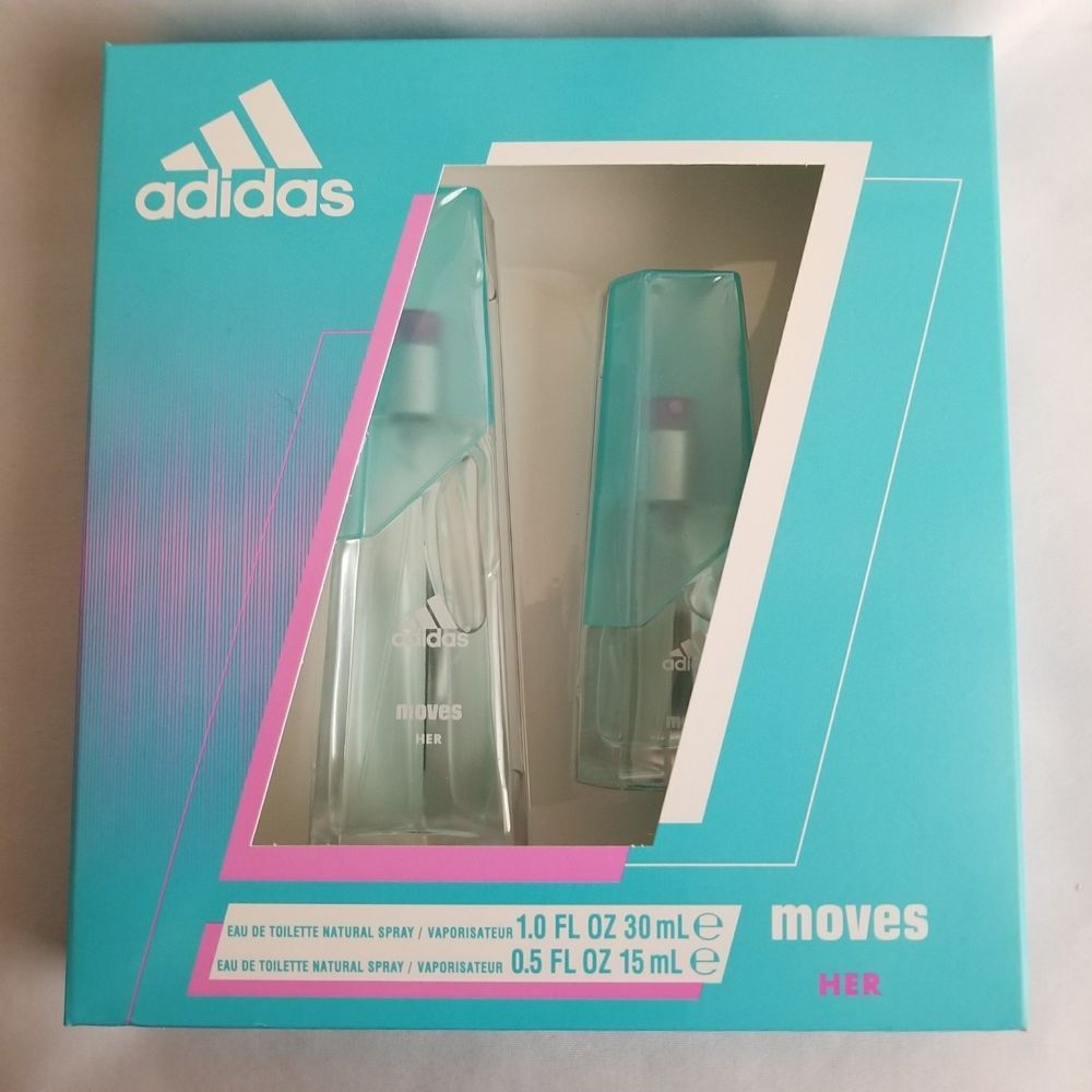 save up to 80% available exclusive deals Adidas Moves for Her Women's Fragrance 2 pc Gift Set #adidas ...