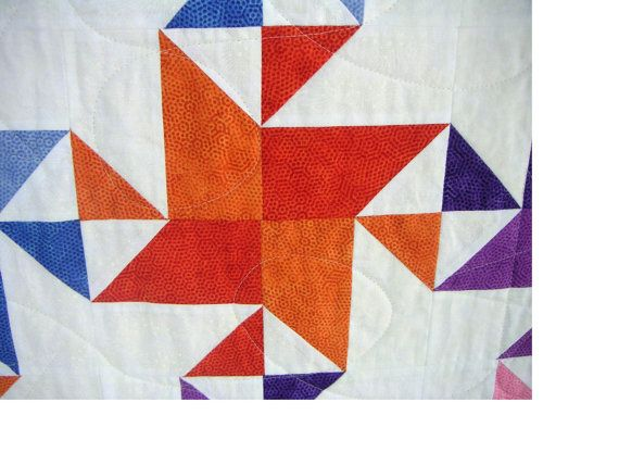 Stars and Stripes Whenever  twin quilt 56 X 80 by CaringQuilts, $150.00