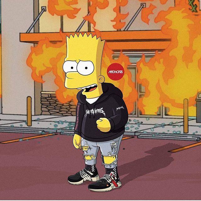 Pinterest Adc Fotos Dos Simpsons Papeis De Parede Bart Simpson