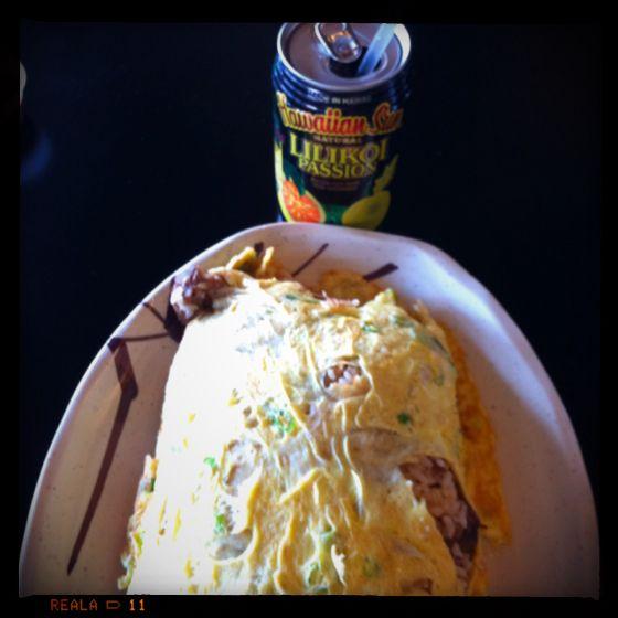 Adobo Fried Rice Omelet Aloha Kitchen In Las Vegas Nv Food