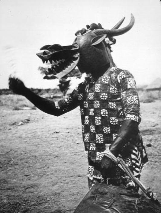 senoufo masque danse