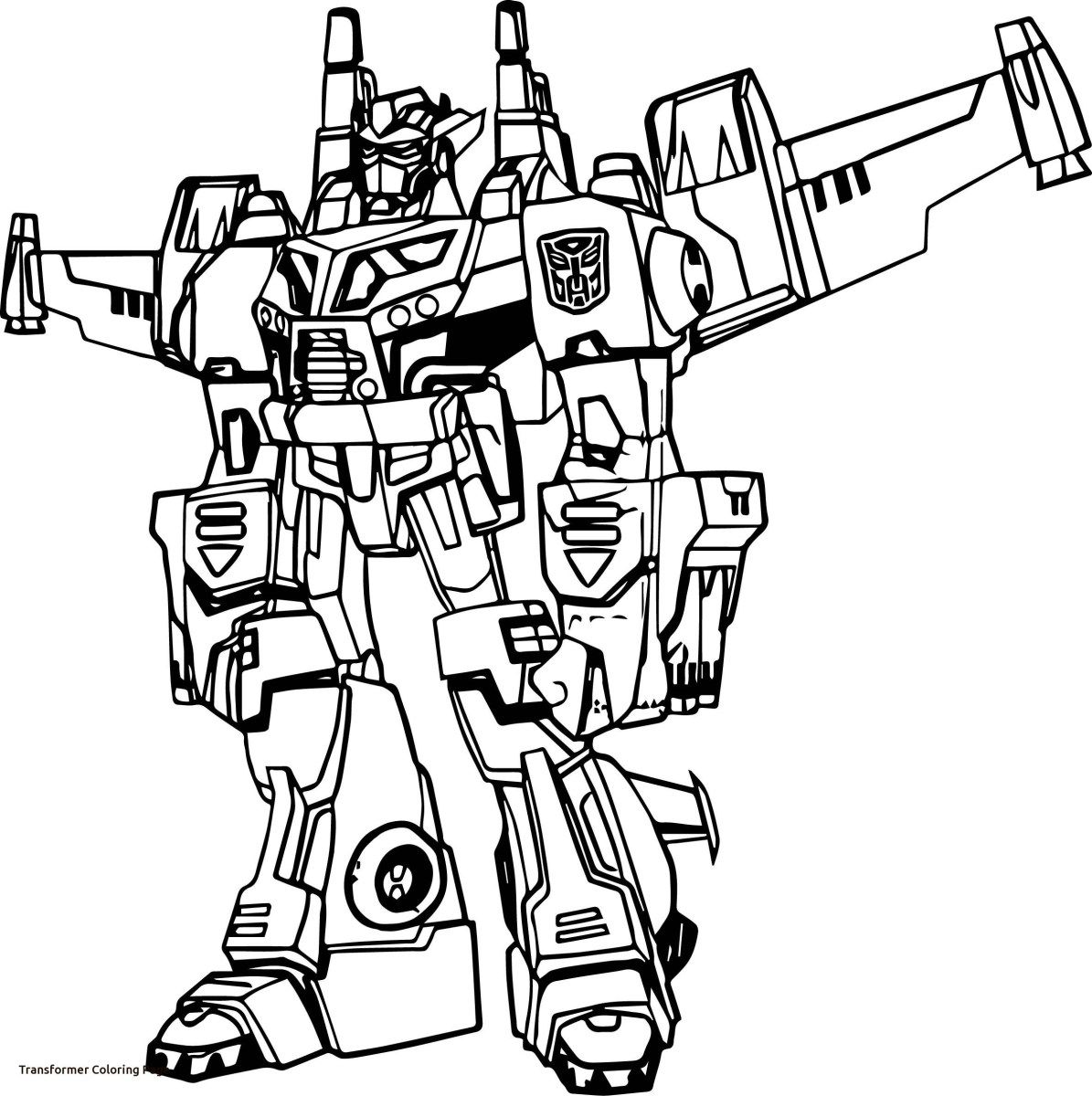 Transformer Coloring Pages A Ordable Transformers Coloring Pages